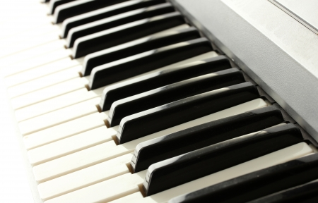 synthesizer: background of synthesizer keyboard