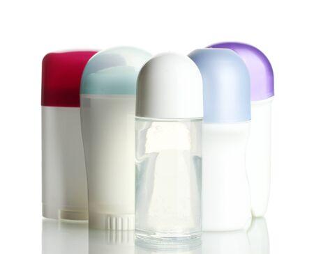 deodorant isolated on white photo