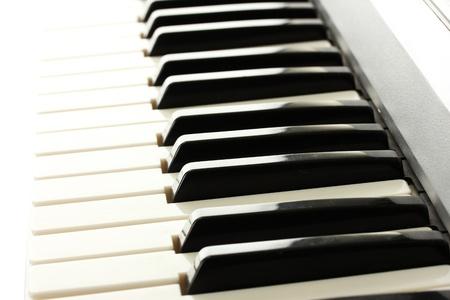 background of synthesizer keyboard photo