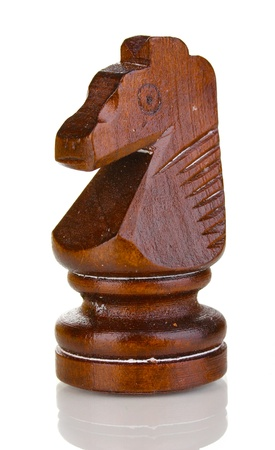 Chess piece isolated on white photo