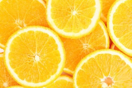 naranjas: Naranjas de cerca Foto de archivo