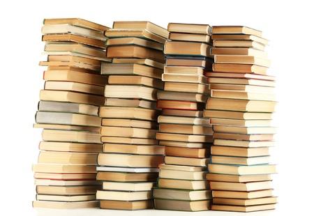 libros: libros antiguos aislados en blanco