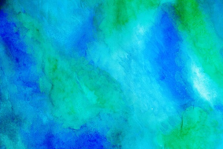 bright abstract gouache painted background