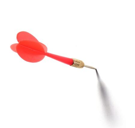 dart isolated on white Stock Photo