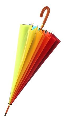 kleurrijke paraplu, geïsoleerd op wit