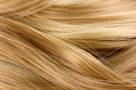 wavy hair: Curly blond hair background