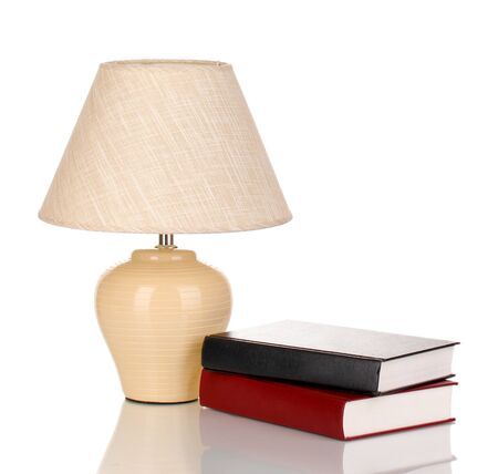 table lamp isolated on white Stock Photo - 15748955