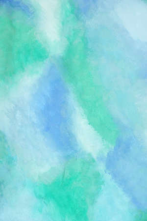 aqua effect: bright abstract gouache painted background