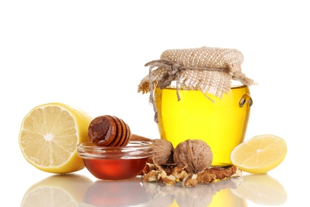 укрепление: Здоровые ингредиенты для укрепления иммунитета, изолированных на белом