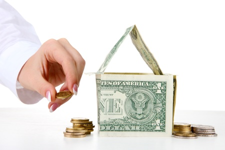 concept: investment to house Stock Photo - 16913060