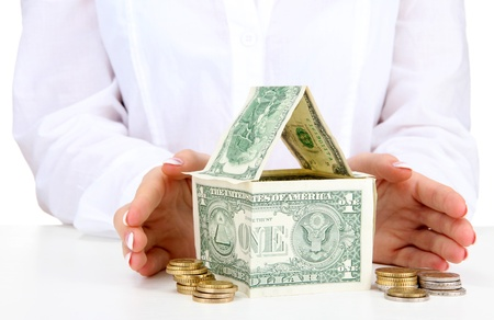 concept: investment to house Stock Photo - 17054029