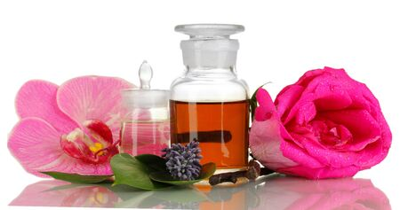 Create perfume isolated on white Stock Photo - 18038617