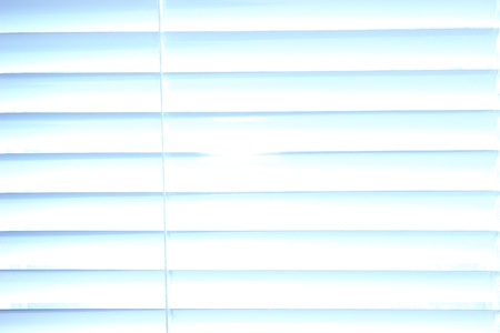 motorized: White shutters close-up background
