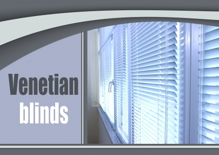 Balcony windows with shutters photo