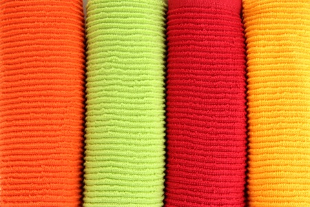 Colorful towels close-up background Stock Photo - 20967083