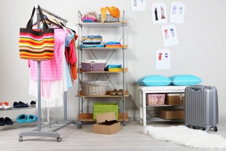 closet: Women wardrobe