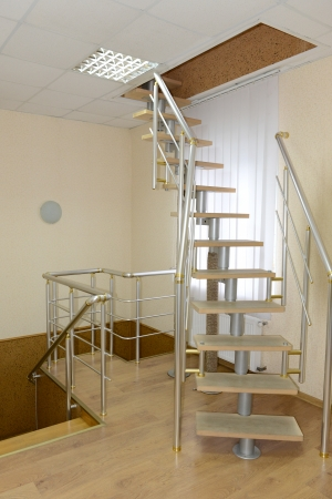upraise: Staircase in modern building