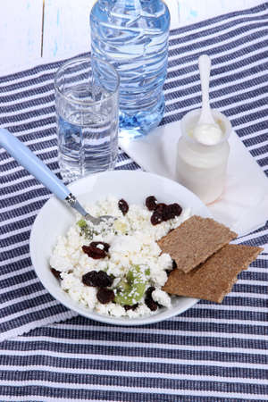microelements: Easy fitness food to sustain shape in form Stock Photo