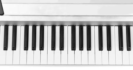 background of piano keyboard photo