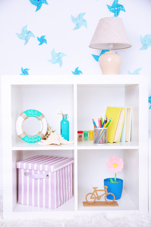 Modern playroom for children photo