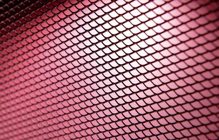reticular: Metal texture close-up