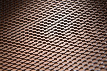 meshed: Metal texture close-up