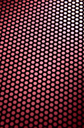 latticed: Metal texture close-up