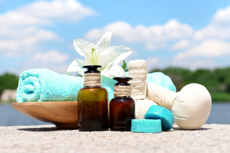 remedies: Herbal remedies for massage, outdoor
