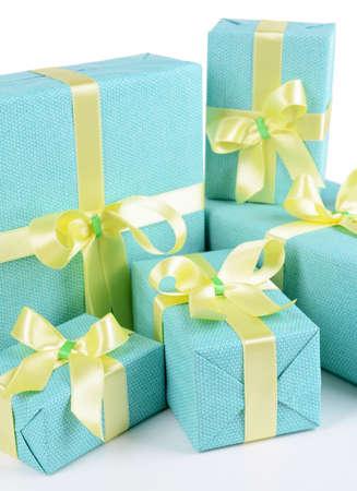 Beautiful gifts close-up photo