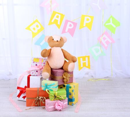 trivia: Many birthday gifts in room