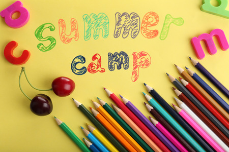 Summer Camp concept photo