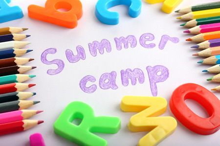 summer sports: Summer Camp concept Stock Photo