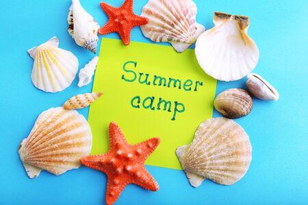summer sport: Summer Camp concept Stock Photo