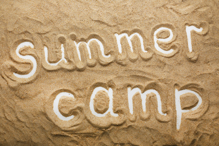 Summer Camp concept Stockfoto