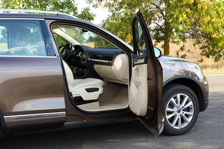 현대 자동차 문 열림, 야외 스톡 콘텐츠 - 38455552