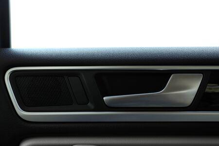 car door: Car door handle inside