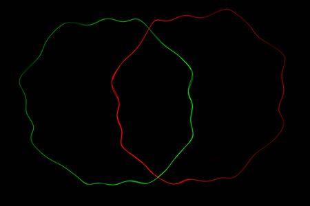 laser light: Abstract laser light on black background