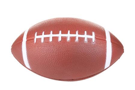 pelota rugby: Pelota de rugby aislado en blanco