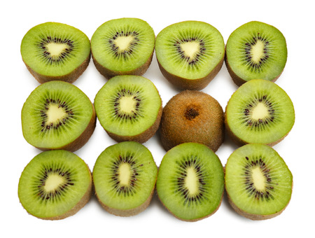 juicy: Juicy kiwi close-up Stock Photo