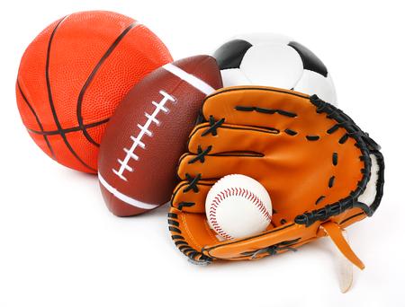sports balls: Sports balls isolated on white