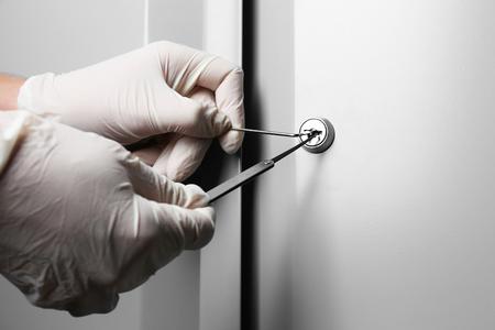 자물쇠 따기 스톡 콘텐츠 - 50639218