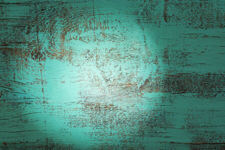 Blue old wood texture close-up background