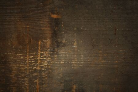 ligneous: Brown old wood texture close-up background Stock Photo