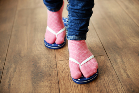 fe85215c9cf Socks And Sandals Stock Photos And Images - 123RF