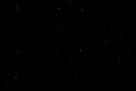 Dark starry sky background