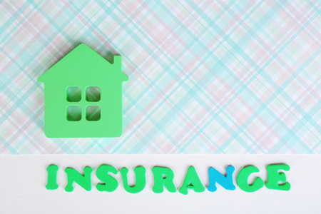 Concept of home insurance