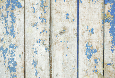Old colorful wooden surface with cracks Stock Photo