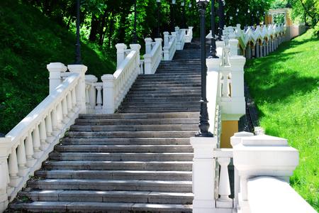 Long staircase on Mykhailo Hill, Kiev