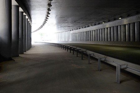Tunnel road area