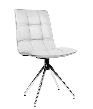 Modern chair isolated on white Stockfoto